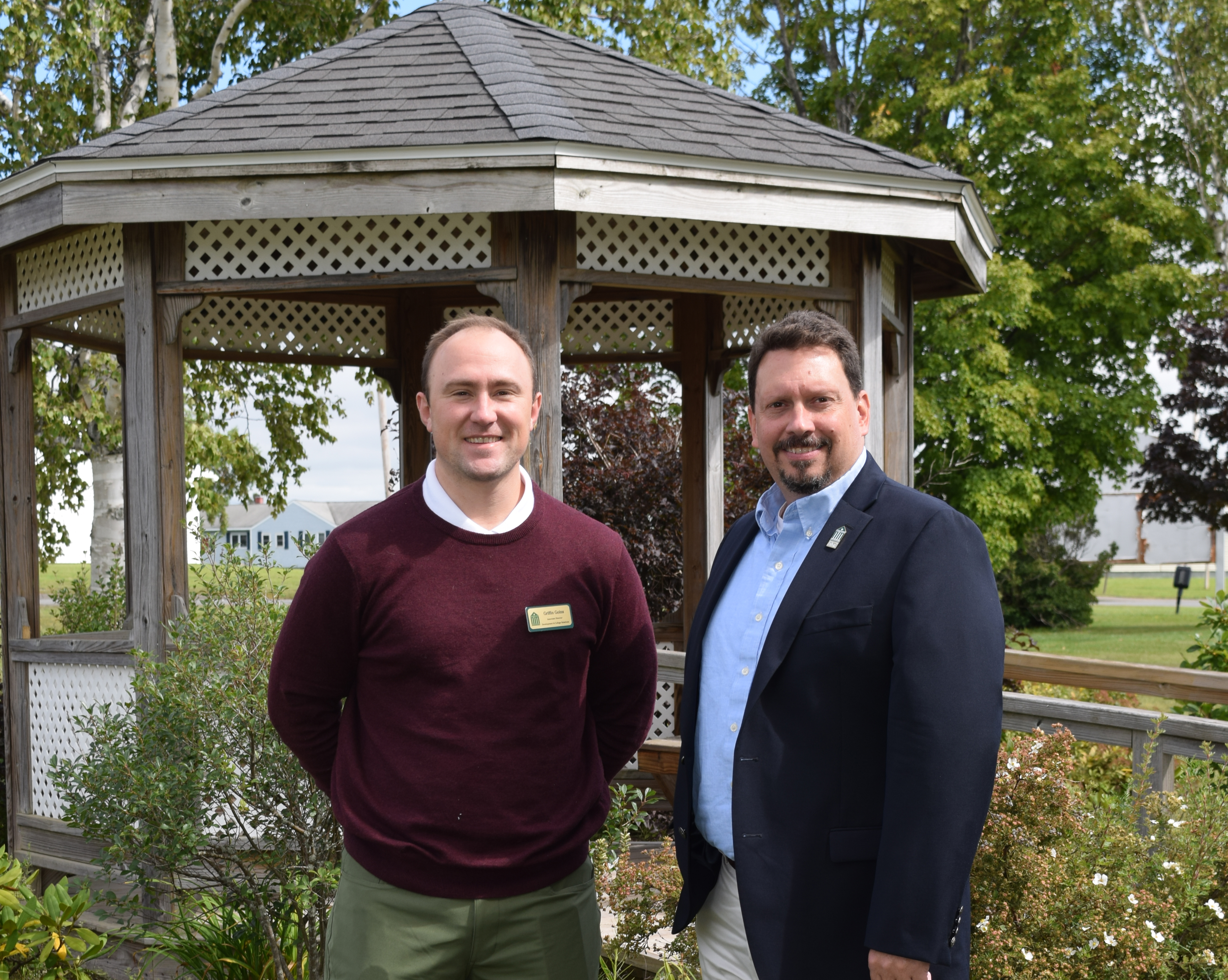 Aroostook County Northern Maine Community College President Timothy Crowley Is Pleased To Announce Two New Members The NMCC Staff Edward Wright And